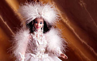 Snow Princess Barbie (Brunette) 1994