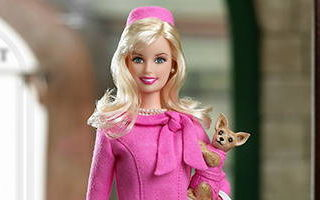 Barbie Doll as Elle Woods from Legally Blonde 2: Red, White & Blonde 2003