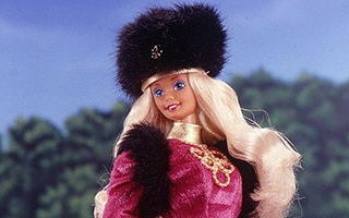 Russian Barbie 1st Edition 1989
