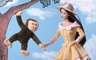 Barbie and Curious George 2000