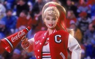 Coca-Cola Barbie (Cheerleader) 2001