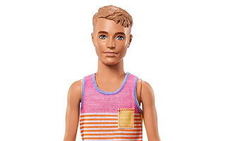 Ken Fashionistas Doll Hyped on Stripes 2017 №11 — Slim
