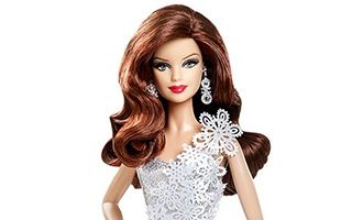 Holiday Barbie 2013 (Brunette)