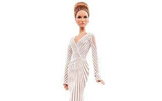Jennifer Lopez Red Carpet Barbie 2013