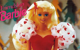 Pretty Hearts Barbie Doll 1992
