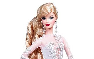 Holiday Barbie 2008 (Blond)