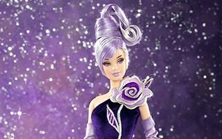 Sterling Silver Rose Barbie by Bob Mackie