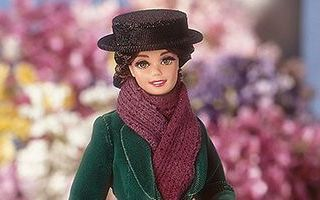 Barbie Doll as Eliza Doolittle from My Fair Lady as the Flower Girl 1996
