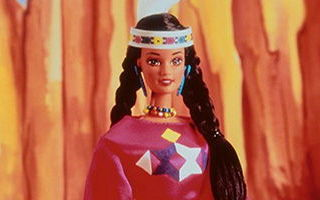 Native American Barbie 3rd Edition 1995