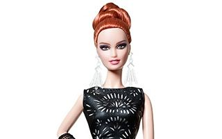 Laser-Leatherette Dress Barbie 2014