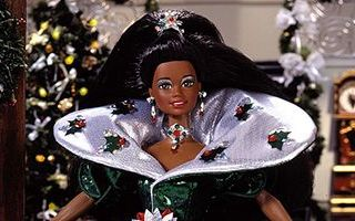 Happy Holidays African-American Barbie 1995