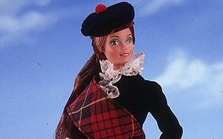 Scottish Barbie 1st Edition 1981