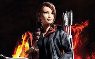 Hunger Games Katniss Doll 2012