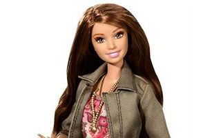 Barbie Style Teresa Doll with Pink Paisley Dress and Jacket 2015