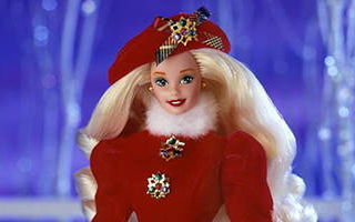 Jewel Princess Barbie 1996