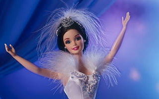 Barbie Doll as the Swan Queen in Swan Lake 1998