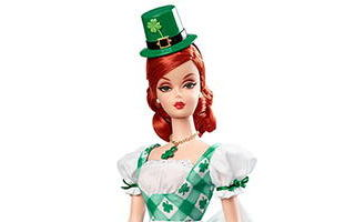 Shamrock Celebration Barbie 2015