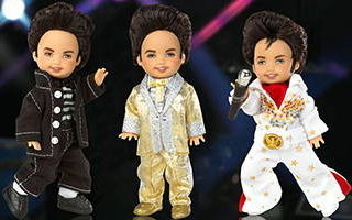 Tommy Doll as Elvis Giftset 2003