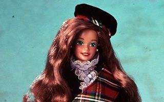 Scottish Barbie 2nd Edition 1991