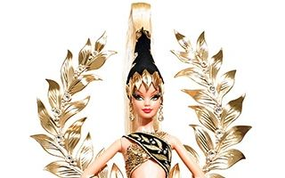 Golden Legacy Barbie by Bob Mackie