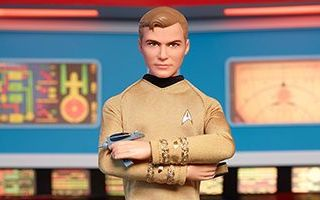 Star Trek 50th Anniversary Captain Kirk Doll 2016