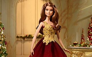 Holiday Barbie 2016 — Red Gown