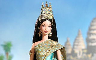 Princess of Cambodia Barbie 2004
