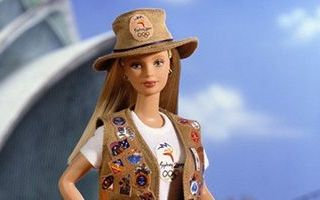 Sydney 2000 Olympic Pin Collector Barbie
