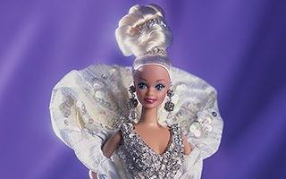 Platinum Barbie 1991
