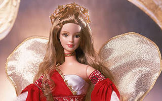 Holiday Angel Barbie #2 2001