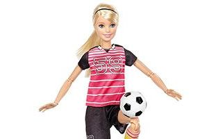 Made to Move Soccer Player Barbie 2016