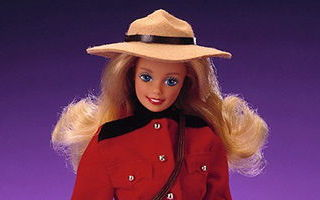 Canadian Barbie 1988