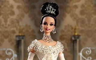 Barbie Doll as Eliza Doolittle from My Fair Lady at the Embassy Ball 1996