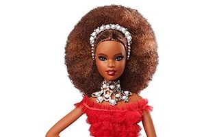 Holiday African-American Barbie 2018