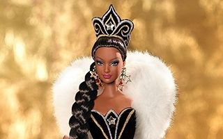 Holiday AA Barbie by Bob Mackie 2006