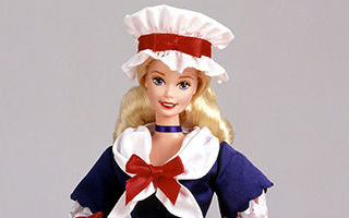 Colonial Barbie 1995
