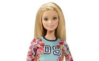 Barbie Fashionistas Floral Top and Striped Skirt Doll 2015