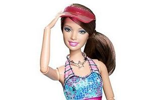 Barbie Fashionistas Swapin Styles Sporty Doll 2010