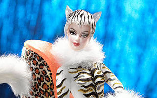 Lounge Kitties Barbie #1 2003