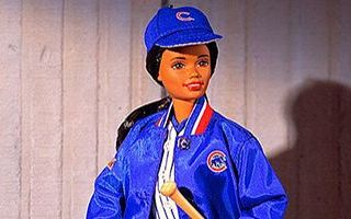 Chicago Cubs African-American Barbie 1999