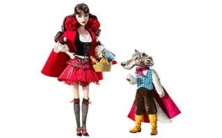 Little Red Riding Hood and the Wolf Barbie Giftset 2008