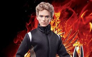 The Hunger Games: Catching Fire Finnick Doll 2013