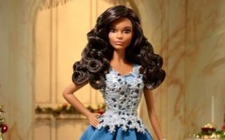 Holiday Barbie 2016 — Blue Gown