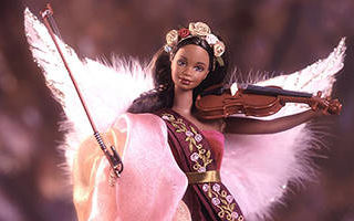Heartstring Angel Barbie African-American 1999