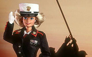 Marine Corps Barbie 1991
