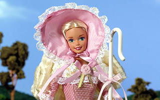 Barbie Doll as Little Bo Peep 1996