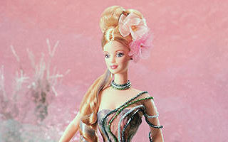 Water Lily Barbie 1997