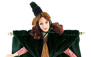 Went with the Wind! The Carol Burnett Show Doll 2009