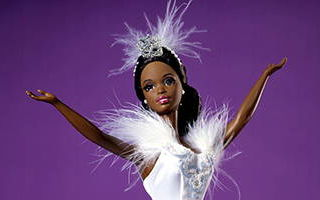 Barbie Doll as the Swan Queen in Swan Lake AA 1998