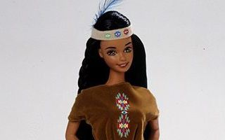 American Indian Barbie 1996